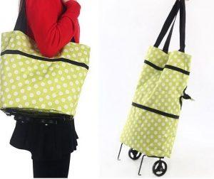 Nákupná taška s kolieskami